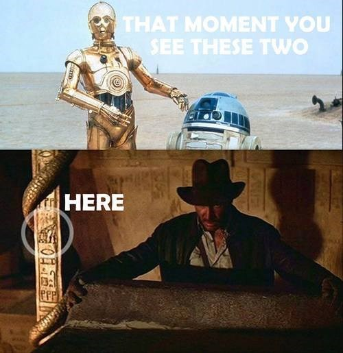 r2d2 george lucas star wars Indiana Jones - 7726104320