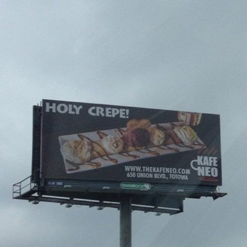 billboard,pun,crepe,brunch