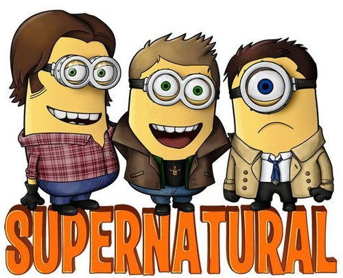 aziel,Despicable Me 2,Supernatural,dean winchester,sam winchester