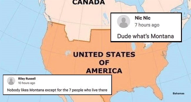 petition to sell the Montana to Canada