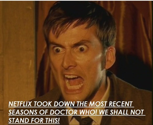 doctor who,netflix