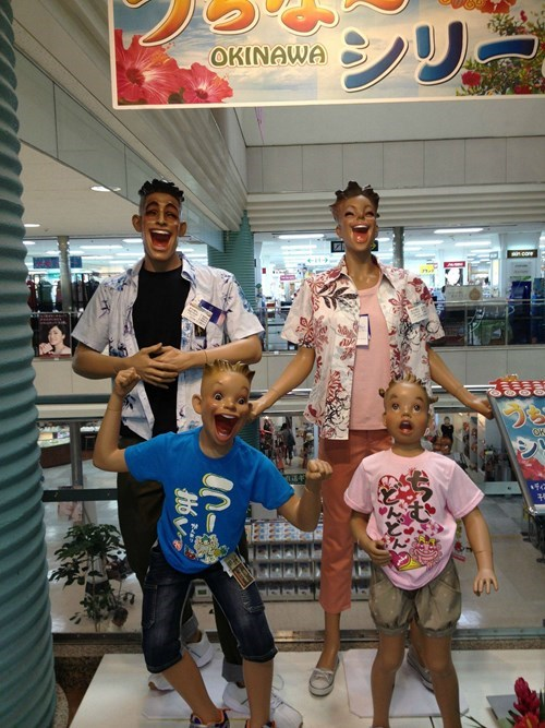 fashion mannequin creepy funny oh Japan