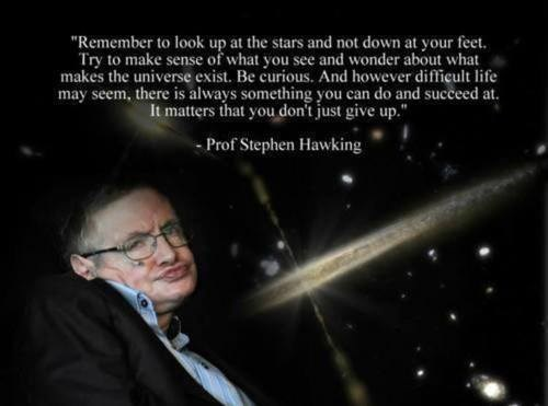 science quote space stephen hawking - 7726728448