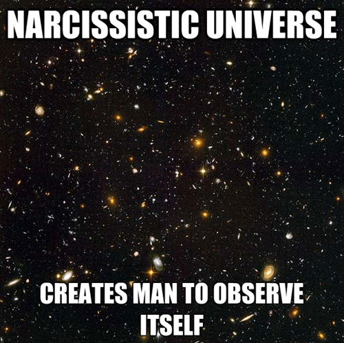 universe,humanity,observe,science,funny