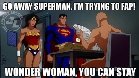 wonder woman lex luthor justice league cartoons superman - 7726937600