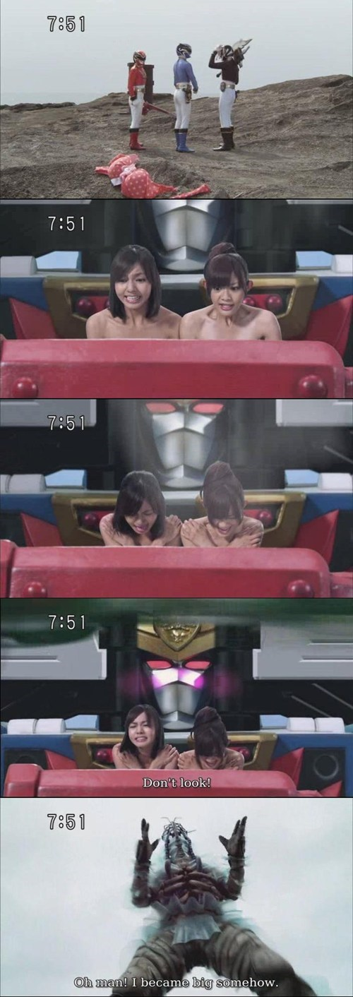Super Sentai that looks naughty TV - 7727403264