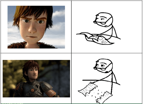 puberty movies dreamworks How to train your dragon