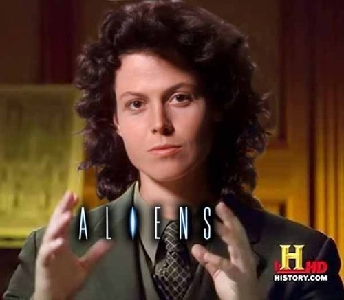 Aliens sigourney weaver meme - 7727838720