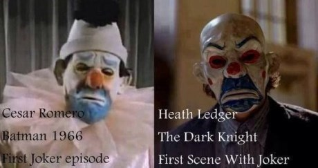 joker dark knight cesar romero batman heath ledger - 7727848960