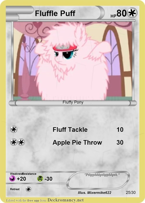 fluffle puff mlp cards - 7727905792