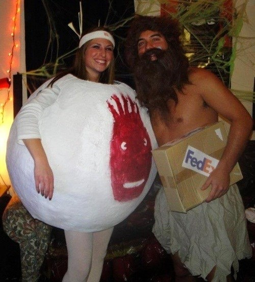 Winners of the Cutest Couple Costume Award