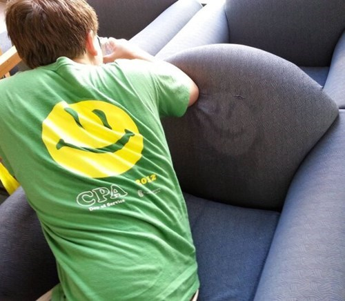 printing sweat smiley seat - 7727962880