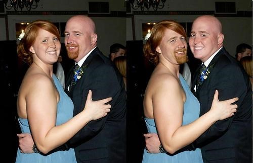 wedding,face swap,swap