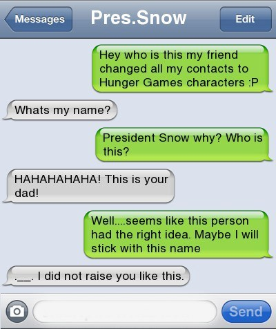 text,dad,hunger games,funny