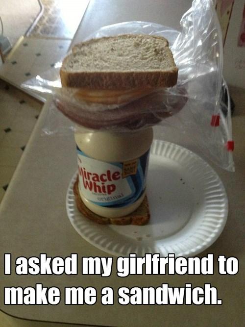 girlfriend sandwich prank funny - 7728059648