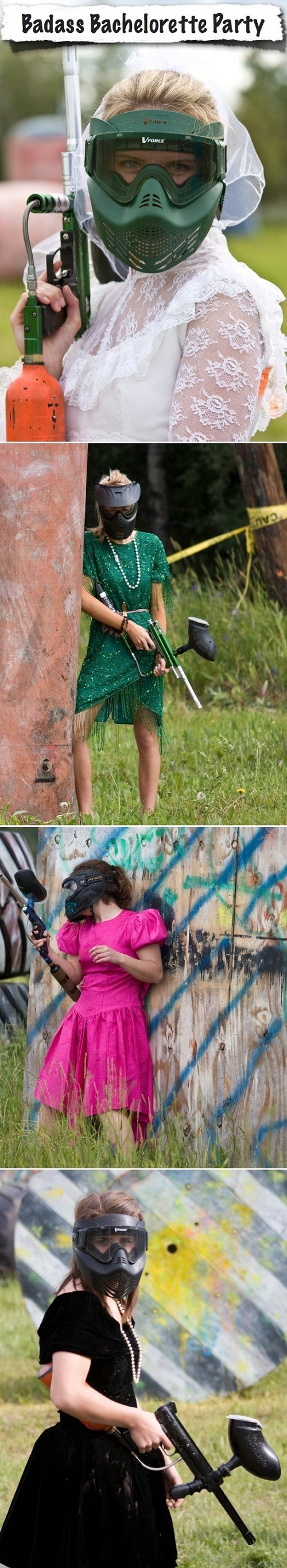 paintball bachelorette party good ideas poorly dressed g rated - 7728068096