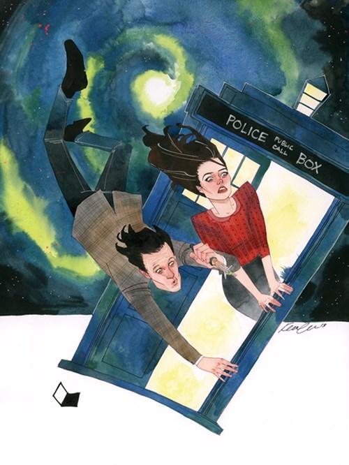 Fan Art 11th Doctor doctor who - 7728165120
