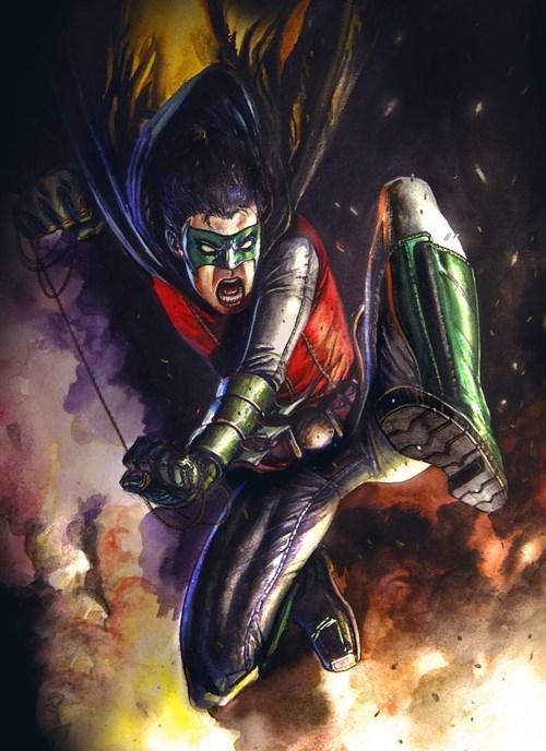 DC robin Fan Art batman - 7728228864