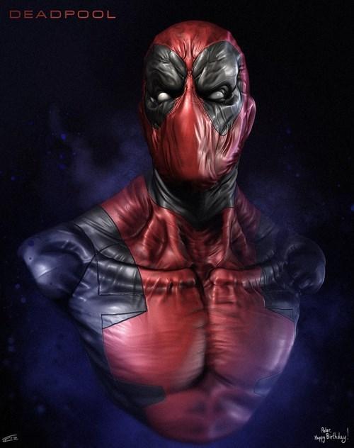 marvel deadpool Fan Art - 7728234496