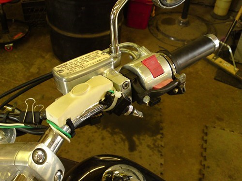 motorcycles,doorbell,binder clip,funny,there I fixed it