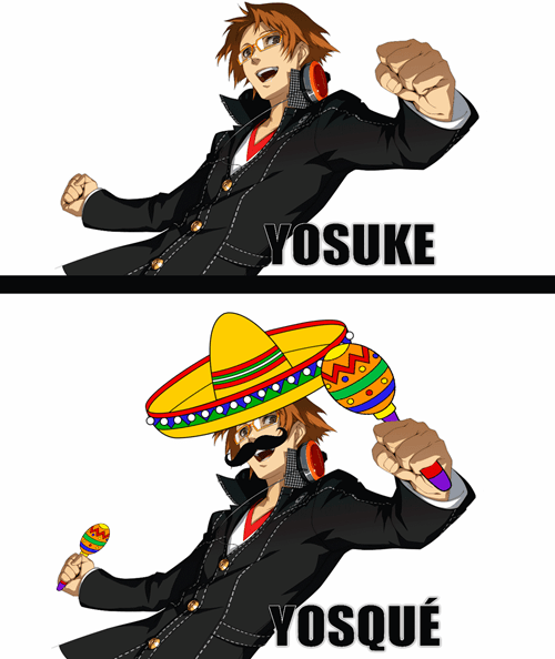 persona 4,spanish,anime,yosuke hanamura