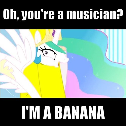 Bronies trolololol bananas no talent hacks celestia - 7728435456