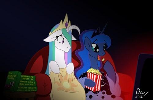 A movie night