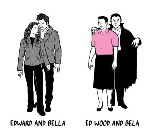 ed wood wtf edward bela lugosi bella twilight funny - 7728575488