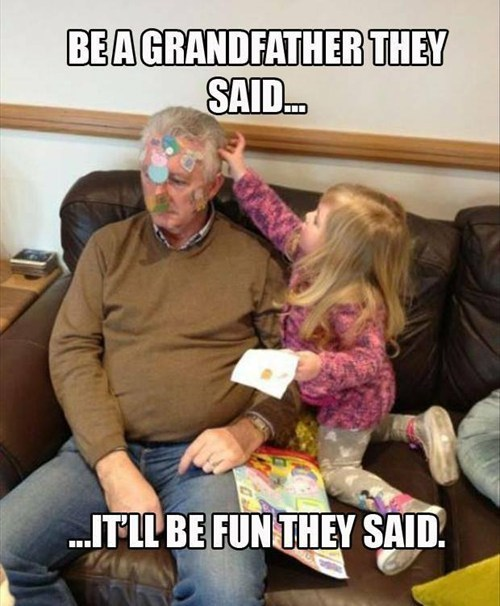 stickers kids parenting grandparents funny g rated - 7729069824