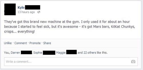 gym,workout,exercise,vending machine,failbook,g rated