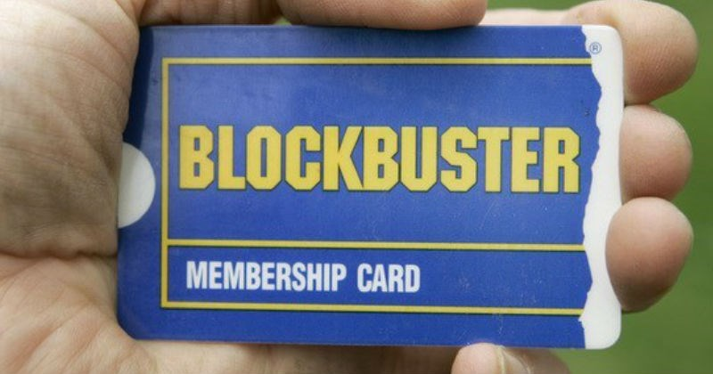 nostalgia, feeling old, blockbuster card