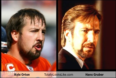 hans gruber totally looks like funny kyle orton - 7729702144