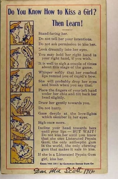 Do you know how to kiss a girl?