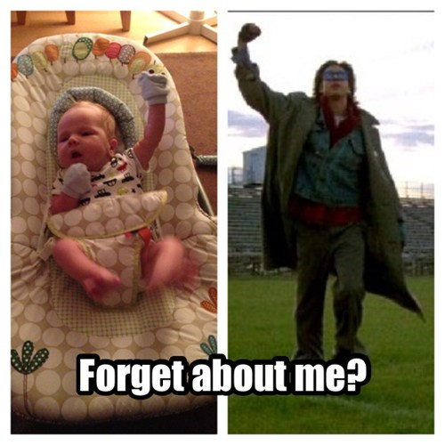 Babies parenting don't you forget about me the breakfast club funny - 7729964800