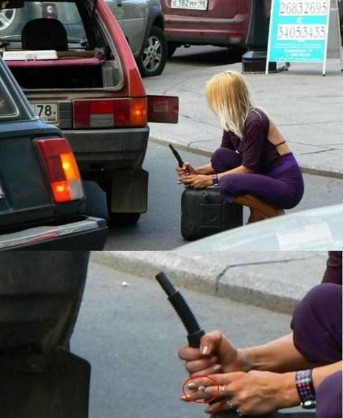 cigarette bad idea cars genius funny gasoline - 7730024960