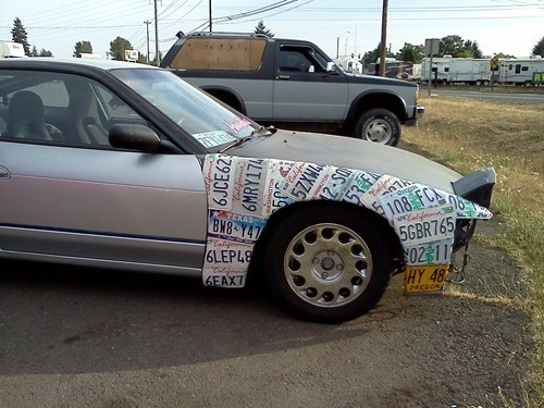 license plates windows cars funny there I fixed it g rated - 7730336768
