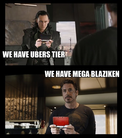 The Avengers,mega blaziken,mega pokemon