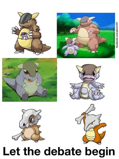 pokemon theories mega kangaskhan cubone - 7731844096
