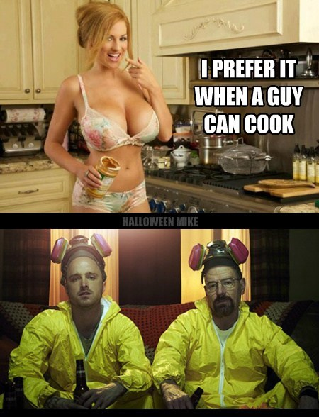 breaking bad,cooking,puns,funny