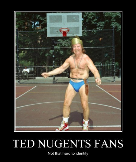 wtf old guy creepy ted nugent - 7732429568