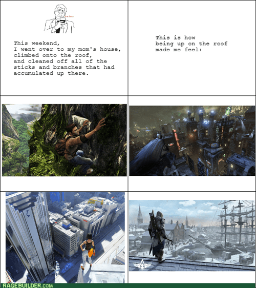 mirrors edge arkham city assassins creed uncharted 3 batman video games - 7732483584