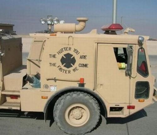 pun fire firetruck - 7732554240