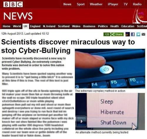 bbc bullying - 7732726272