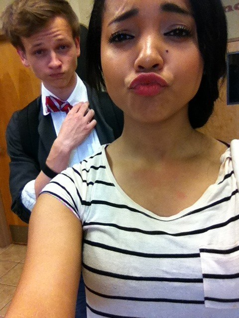 Duckface vs. Bow Tie? No Contest!