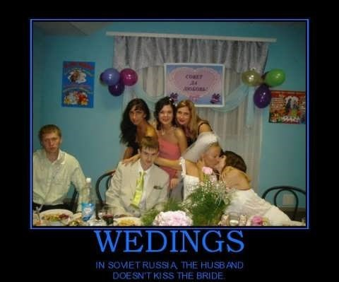russia idiots weddings funny - 7733052160