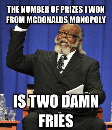 too damn high McDonald's Memes - 7733086464