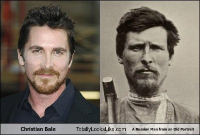 russian man,totally looks like,christian bale,funny