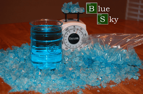 breaking bad blue sky funny cocktail - 7733121536