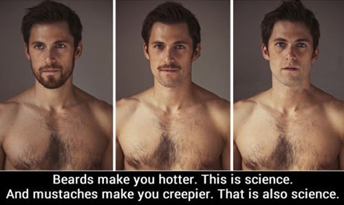 guys,facial hair,sciance