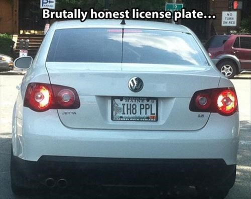 people suck license plates cars - 7733136640